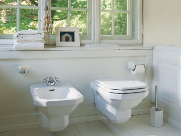 8-Duravit-1930's-Wall-Hung-WC-&-Bidet